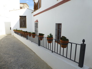 Arcos de la Frontera, white town of Cadiz. Andalusia,Spain