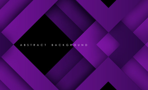 Abstract modern purple triangle digital - Vector Background.