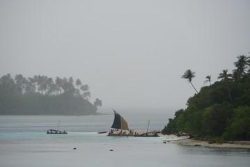 Landscape of kitava island