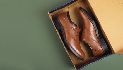 Indian Made Men's Shoes with Box