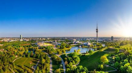 Olympic Park in Munich, Bavaria, Germany