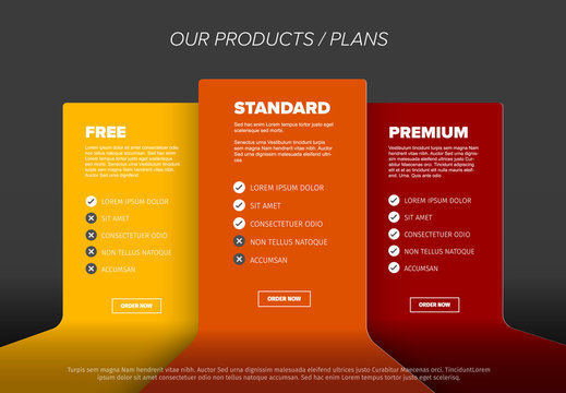 Product cards features schema template