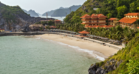 island beach bungalows tropical island resort