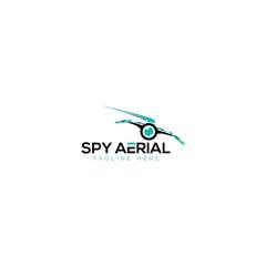 Spy Aerial And Drone Logo Design