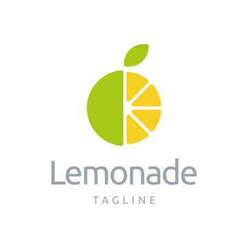 Lemon Logo Design Template