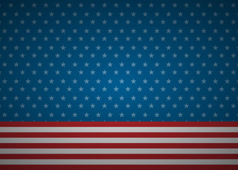 United States abstract flag background