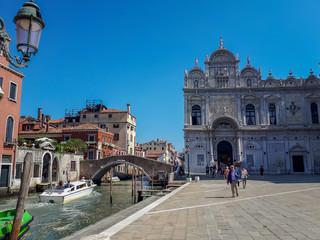 Papiers peints Palerme Venice Lagoon, Italy