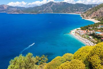 Azure seaside of Turkey