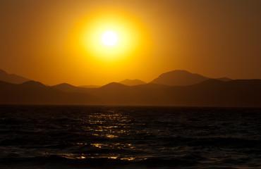 Sonnenuntergang,  Insel Kos