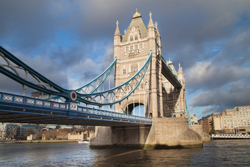 Tower Bridge from Shad Thames