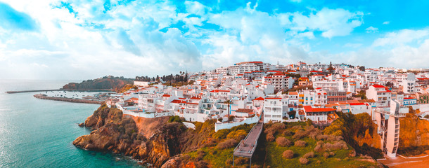 giant panorama about albufeira at portugal Fotomurales