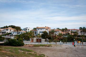 Playa Flamenca beach area