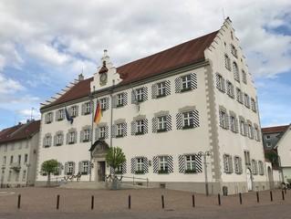 Rathaus in Tettnang (Baden-Württemberg)