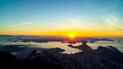Sunrise at Pao de Acucar - Rio de Janeiro