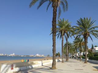 Manga del Mar Menor, coastal village of Murcia.Spain