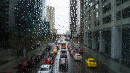 Rainy City Traffic 2