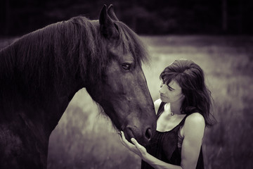 A horse can break everything, but never your heart