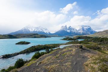 Chilean Patagonia landscape, Torres del Paine National Park