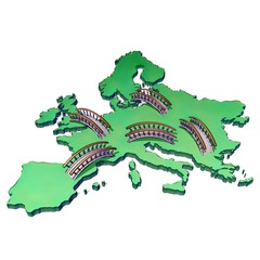 European union • Accessibility • Travel • Cooperation • Interaction