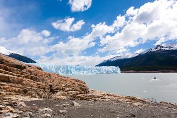 Perito Moreno glacier view, Patagonia scenery, Argentina