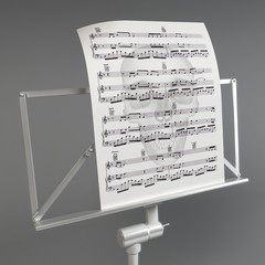 Music stand • Depression and music • Watermarked music files