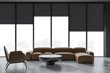 Window Shades Office Stock Photos And