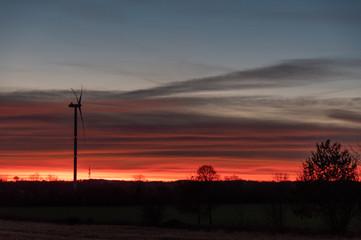 red sky turbine