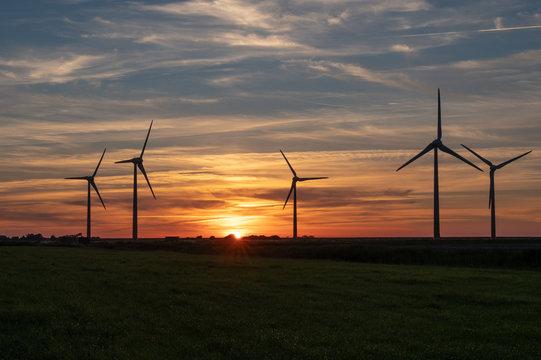 orange sky turbines