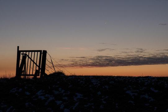 gate in the sky