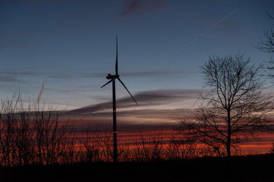 orange sky turbine