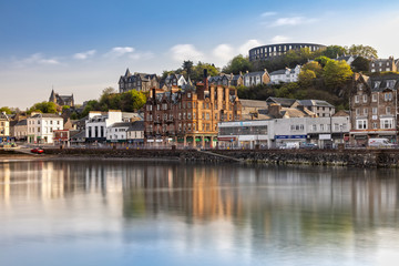 Scenic View over Oban in Scotland Wall mural