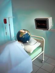 Sick earth • Ill world • Diseased globe