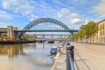 The Tyne Bridge in Newcastle upon Tyne in Great Britain Fototapete