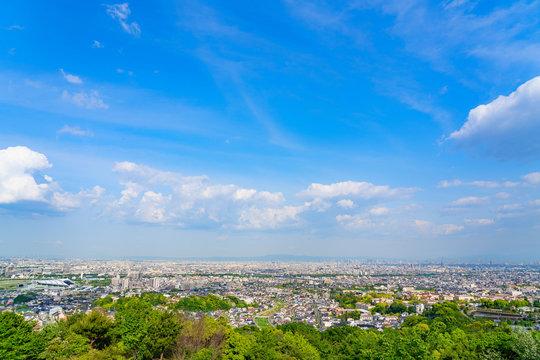 大阪兵庫一望 都市風景