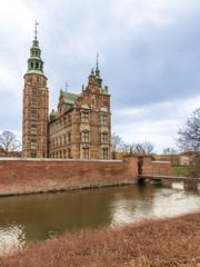 Rosemborg Castle, Copenhagen in Denmark