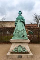 Statue of Caroline Amalie of Augustenburg