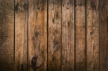 Poster Bois Brown wood plank texture background. hardwood floor