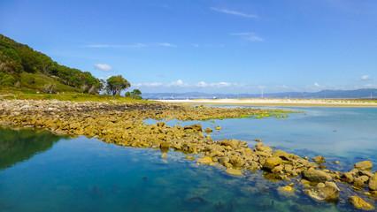 Cies Islands. National Park in Galicia,Spain