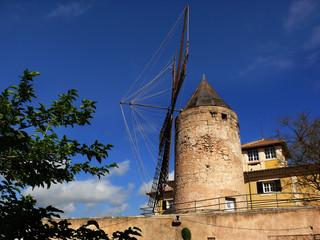 Windmühle in Palma de Mallorca