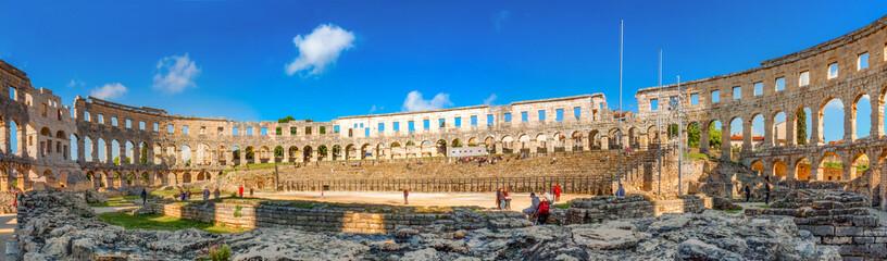 Amphitheater Pula, Istrien, Kroatien