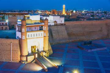 View of the Historic Centre of Bukhara, Uzbekistan