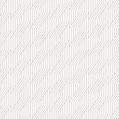 geometric vector pattern for fictitious embroidery designs, repeating with geometric striped ornament. monochrome linear braids. pattern is on swatches pattern