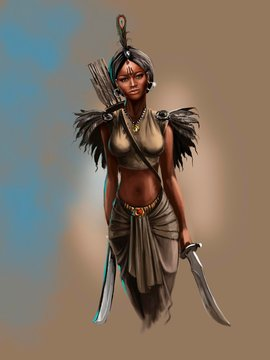 Woman warrior