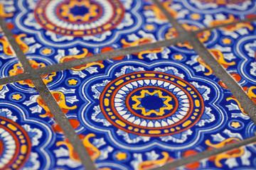 Mexican ceramic tiles