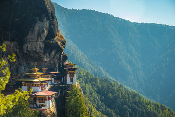 Taktshang Goemba or better known as Tiger's nest Temple