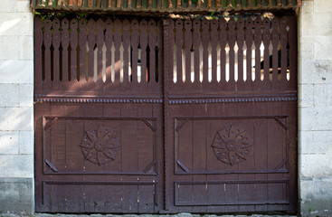 Background of a old gate.
