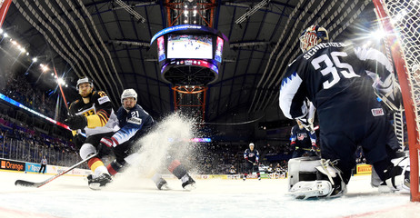 Ice Hockey World Championships - Group A - Germany v USA