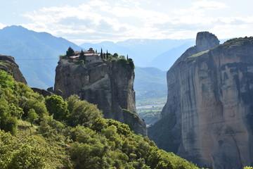 Meteory, Grecja, klasztory, widoki, góry