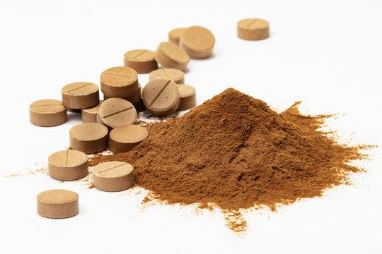 powder and tablets Mumio Shilajit
