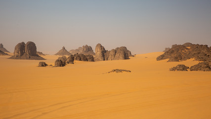 Tassili N'Ajjer in Sahara desert, Algeria